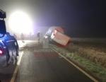CARIGNANO - Brutto incidente tra un camion cisterna e unauto: due feriti - immagine 1
