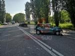 NICHELINO - Scontro tra un carroattrezzi e una 500: donna ferita - immagine 1