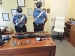 NICHELINO - Spara al vicino con un fucile ad aria compressa: arrestato dai carabinieri per atti persecutori e lesioni - immagine 1