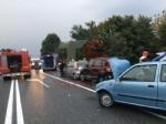 RIVALTA - Incidente stradale: tre auto coinvolte, due persone ferite - FOTO - immagine 2