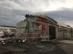 CARMAGNOLA - La furia del maltempo: Capannone della Sac demolito - LE FOTO - - immagine 2