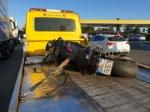 NICHELINO - Tre incidenti sulla tangenziale: ferito centauro di Moncalieri - immagine 2