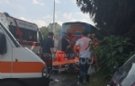 LA LOGGIA - Terribile incidente bus contro camion: una decina di feriti - FOTO - immagine 6