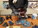 TROFARELLO-NICHELINO - Sinti in fuga si schiantano: in auto nascondevano materiali per i furti - FOTO e VIDEO - immagine 2