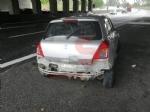 NICHELINO - Raffica di incidenti in tangenziale: unauto si ribalta, una persona ferita - immagine 2