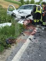ORBASSANO - Incidente mortale sulla provinciale 143: vittima una donna di Vinovo - FOTO - immagine 2