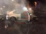 CARIGNANO - Auto prende fuoco allimprovviso durante la marcia - FOTO - immagine 2