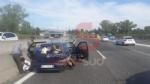 TANGENZIALE - Doppio incidente nellarco di pochi minuti: sette persone finiscono in ospedale - immagine 2