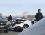 CARIGNANO - Incidente stradale con quattro auto coinvolte e cinque feriti - immagine 2