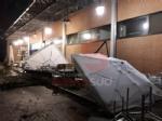 TROFARELLO-CARMAGNOLA - Alberi abbattuti, strade e cantine allagate: nottata di super lavoro per i vigili del fuoco - FOTO - immagine 2
