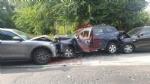 BEINASCO - Brutto incidente in via San Luigi: tre feriti e quattro auto distrutte - FOTO - immagine 2