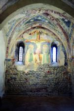 RIVALTA - Ora è possibile ammirare gli affreschi appena restaurati al piano terreno del Torrione - immagine 2