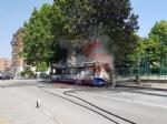 MONCALIERI - Un altro pullman Gtt prende fuoco al capolinea: provvidenziale intervento dei vigili del fuoco - FOTO - immagine 9