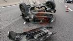 RIVALTA - Incidente stradale, grave motociclista. Caos e code in tangenziale - FOTO - immagine 2