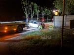 PIOSSASCO - Incidente mortale: auto si ribalta nel canale, vittima un ragazzo - FOTO - immagine 2