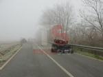 CARIGNANO - Brutto incidente tra un camion cisterna e unauto: due feriti - immagine 2