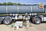 ORBASSANO - Cisterna perde acido cloridrico: Arpa monitora laria - VIDEO - immagine 2