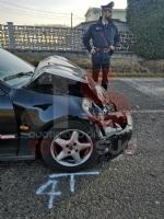 BRUINO - Incidente stradale, auto si ribalta: un uomo in prognosi riservata - FOTO - immagine 2