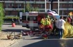 CARMAGNOLA - Camion investe una ciclista: trasportata durgenza al Cto è gravissima - FOTO - immagine 3