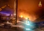 ORBASSANO - Incendio rifiuti Ambienthesis: nessun inquinamento nellaria della zona - immagine 3