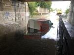MALTEMPO - Nubifragio: a Trofarello dieci persone evacuate. A Moncalieri i pompieri salvano due automobilisti bloccati nel tunnel allagato - FOTO - immagine 3
