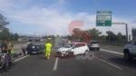 TANGENZIALE - Doppio incidente nellarco di pochi minuti: sette persone finiscono in ospedale - immagine 3