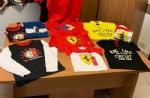 NICHELINO - In un alloggio spuntano magliette della Ferrari rubate: tre nomadi denunciati dai carabinieri - immagine 3