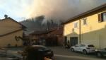 SANGANO - Incendio sul monte San Giorgio sotto la punta Pietraborga - immagine 3