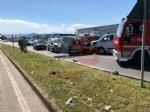 ORBASSANO - Spaventoso incidente stradale: otto feriti in strada Torino. Tra loro due bimbi - FOTO - immagine 3