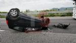 RIVALTA - Incidente stradale, grave motociclista. Caos e code in tangenziale - FOTO - immagine 3