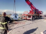 CARMAGNOLA - Tir carico di bobine metalliche si ribalta sulla strada per Racconigi - immagine 3
