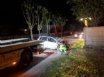 TRAGEDIA A PIOSSASCO - Muore a soli 27 anni ribaltandosi con lauto lungo la provinciale - FOTO - immagine 3
