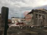 CARMAGNOLA - La furia del maltempo: Capannone della Sac demolito - LE FOTO - - immagine 4