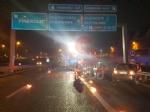 TANGENZIALE DI TORINO - Grave doppio incidente nella notte: auto impazzita travolge tre persone - FOTO - immagine 4