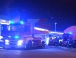 MONCALIERI - Grave incendio nella notte nel deposito di gomme di strada Carignano - LE FOTO - - immagine 5