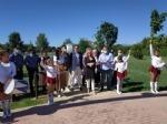 ORBASSANO - Inaugurato il parco pubblico dedicato al genio di Galileo Galilei - FOTO - immagine 4