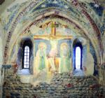 RIVALTA - Ora è possibile ammirare gli affreschi appena restaurati al piano terreno del Torrione - immagine 4