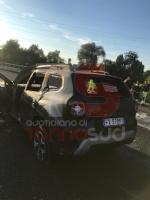 NICHELINO - Grave incidente in tangenziale: quattro feriti, unauto a fuoco - immagine 4
