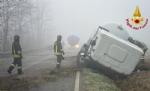 CARIGNANO - Brutto incidente tra un camion cisterna e unauto: due feriti - immagine 6