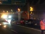 TANGENZIALE DI TORINO - Grave doppio incidente nella notte: auto impazzita travolge tre persone - FOTO - immagine 5