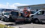 ORBASSANO - Spaventoso incidente stradale: otto feriti in strada Torino. Tra loro due bimbi - FOTO - immagine 5