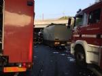 INCIDENTE SULLA TANGENZIALE - Scontro tra due camion al Sito, caos e code chilometriche - FOTO - immagine 5