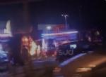 MONCALIERI - Grave incendio nella notte nel deposito di gomme di strada Carignano - LE FOTO - - immagine 7