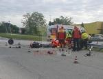 RIVALTA - Incidente stradale, grave motociclista. Caos e code in tangenziale - FOTO - immagine 6