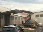 CARMAGNOLA - La furia del maltempo: Capannone della Sac demolito - LE FOTO - - immagine 7