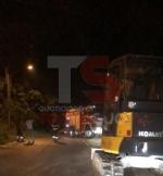 TROFARELLO-CARMAGNOLA - Alberi abbattuti, strade e cantine allagate: nottata di super lavoro per i vigili del fuoco - FOTO - immagine 7
