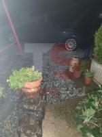 TROFARELLO - Bomba dacqua nella notte: il forte vento sradica il tetto di una casa - VIDEO - immagine 8