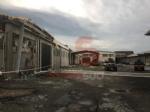 CARMAGNOLA - La furia del maltempo: Capannone della Sac demolito - LE FOTO - - immagine 9