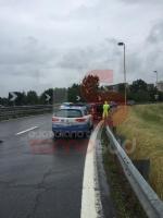 NICHELINO - Raffica di incidenti in tangenziale: unauto si ribalta, una persona ferita - immagine 9