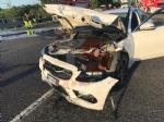 NICHELINO - Grave incidente in tangenziale: quattro feriti, unauto a fuoco - immagine 9
